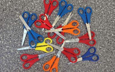 Introducing Scissors to a Preschooler